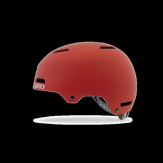 Giro Dime FS Youth/Junior Bike Helmet - Matte Dark Red
