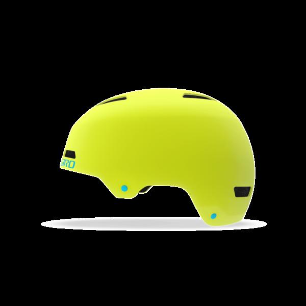 Giro Dime Youth/Junior Bike Helmet - Matte Citron/Iceberg