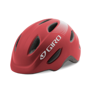 Giro Scamp Youth/Junior Bike Helmet - Matte Dark Red