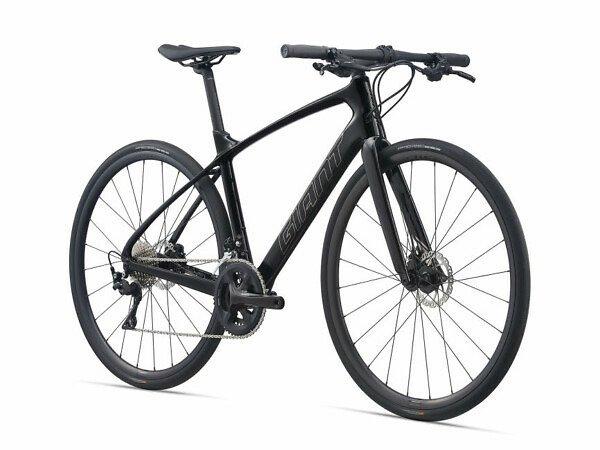 Giant FastRoad Advanced 1 Flat-Bar Road Bike - 2021