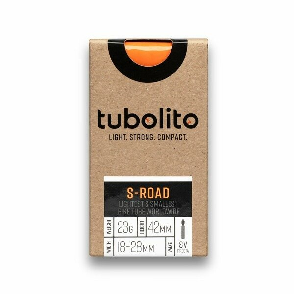 Tubolito S-Road Featherweight Road Inner-Tube 18-28mm Presta - Roe Valley Cycles