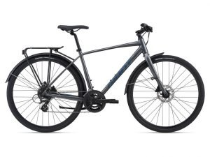 Giant Escape 2 City Disc Hybrid Bike - 2021 - Roe Valley Cycles